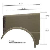 LKQ Evans Heavy Truck Parts HOOD PETERBILT 389