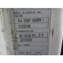 TRANSMISSION ASSEMBLY MERITOR MO14G10AM