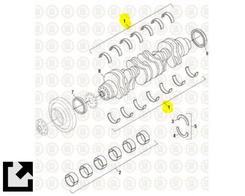 DETROIT DD15 ENGINE PARTS MISC #PAI 671560 for sale by LKQ