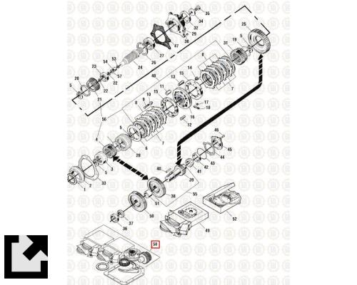 MACK T2100 TRANSMISSION PARTS #PAI 806804 for sale by LKQ
