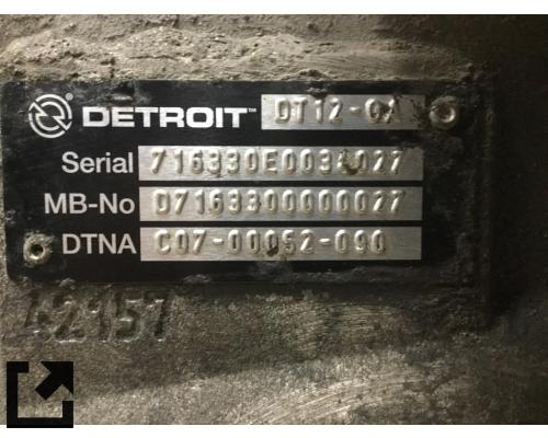 DETROIT DT12-OA (OVERDRIVE) TRANSMISSION ASSEMBLY