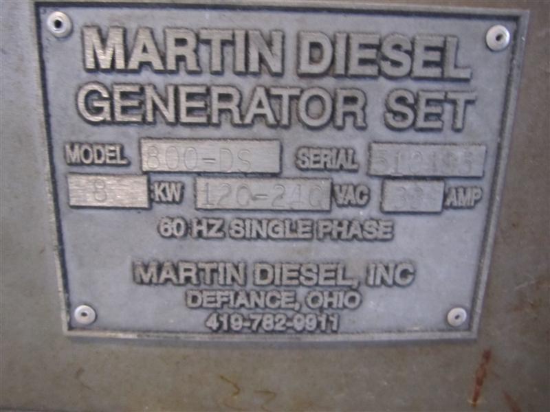 1994 MACK MS200 GENERATOR SET